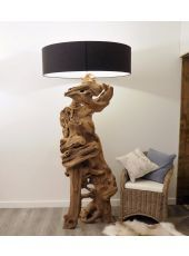 Rustic Floor Lamp - Extra Tall