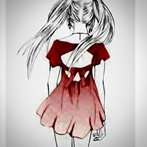 Best 25 dessin fille triste ideas on pinterest manga girl sad we heart it girl and what to draw - Dessin triste ...