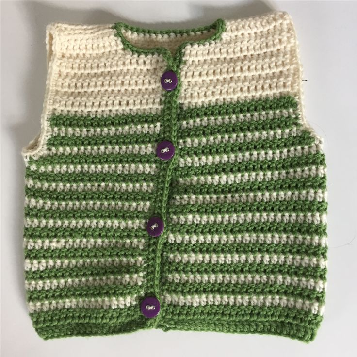 Inspired by Croby Patterns: http://crobypatterns.com/free-pattern-crochet-baby-cardigan/
