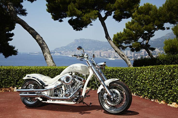 The Caroline Wozniacki bike, hand build by Lauge Jensen motorcycles