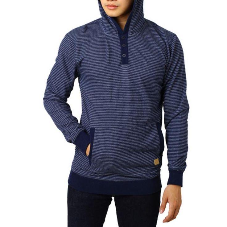 Edberth Shop Sweater Pria - Biru - Int:M