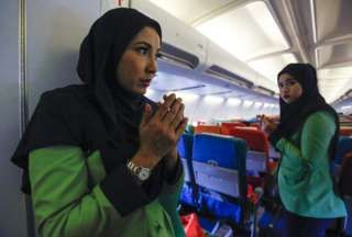 Rayani Air: Five things about Malaysia's Islamic airline - BBC News