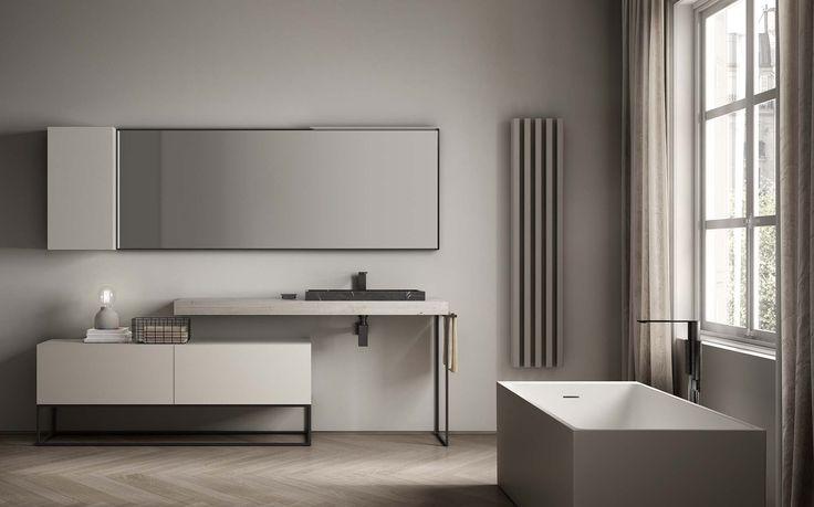 The new modular Dogma collection from Alternative Bathrooms melds Italian style with a Zen-like focus on harmony and balance.   An extensive system of beautiful basins, cabinetry and storage offers interchangeable elements in a wide range of sizes, materials and colour options. These allow completely individual set-ups to be designed. Natural materials abound in the collection, including metal, timber, porcelain and marble. alternativebathrooms.com