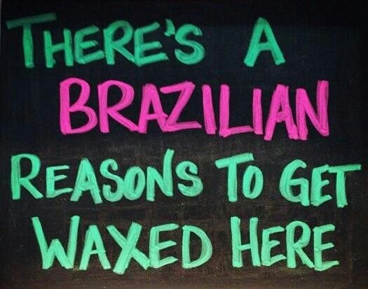 Ladies time ditch your brazilian wax
