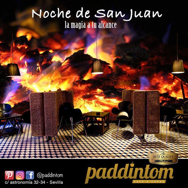 La noche más intensa del año, la noche de San Juan, está a tu alcance con toda su magia en #Paddintom Café & Copas. Ven y disfruta #nochemagica #salirdecopas #ritual #Sanjuan #venAverme #pideundeseo #fuego #verano2017 #verano #happy #feliz #summer #gintonic #helados #batidohelado #cartaDecocteles #cachimbas #salirenSevilla #sevilla