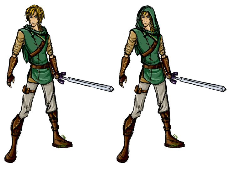 A redesign of Link, just for fun.