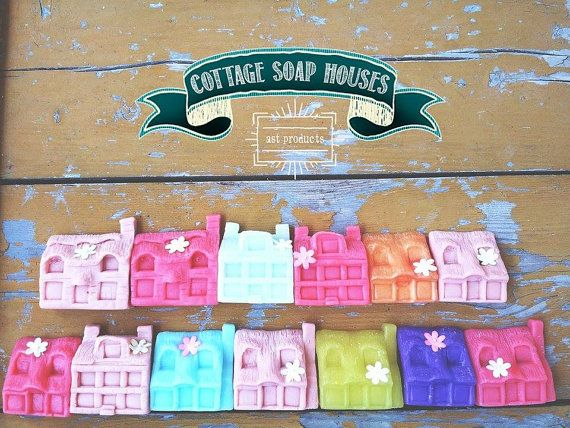 Cottage Soap Houses crafted by Ast Products No Ordinary Soaps Handmade organic soaps with Spring magical colours. Why should only our kids enjoy a
