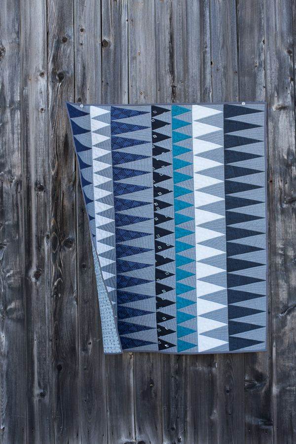 Finished Tangelo Quilt - Noodlehead
