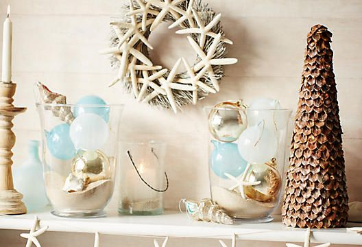 220 best Christmas By the Sea images on Pinterest Merry christmas - coastal christmas decorations