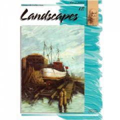 Leonardo Collection Desen Kitabı #18 Landscapes