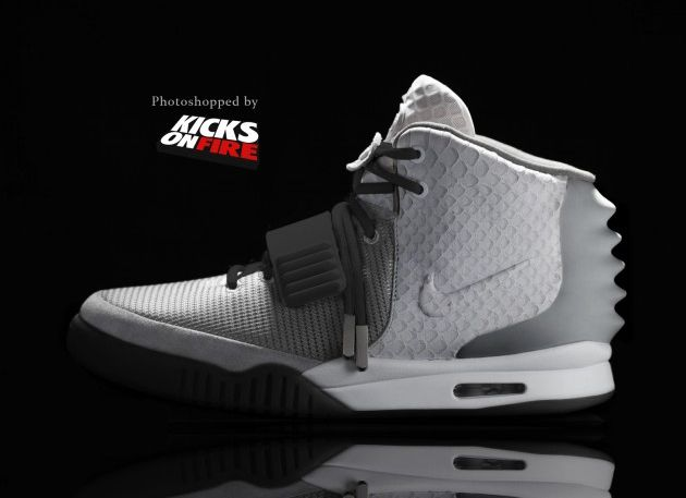 Take a Look at These Nike Air Yeezy 2 Colorways Inspired by Air Jordans
