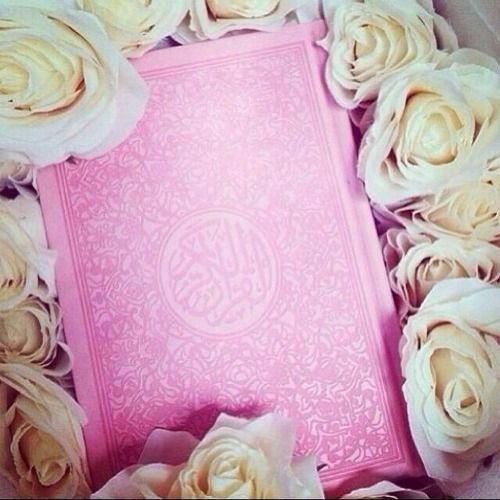 Omg im not sure if its ok to have a pink cover, but i love this Quran ♥