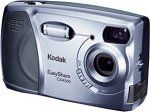 Kodak EasyShare CX4200 2MP Digital Camera. 2-megapixel sensor creates 1,600 x 1,200 images for sharp prints at sizes up to 8 x 10 inches. 2x digital autofocus zoom lens. Internal 16 MB memory holds approximately 20 images at default settings; MMC/SD slot for additional capacity. Connects with Macs and PCs via USB port or optional dock. Uses 1 CR-V3 lithium battery, 2 AA batteries, or rechargeable battery pack (when used with optional dock).