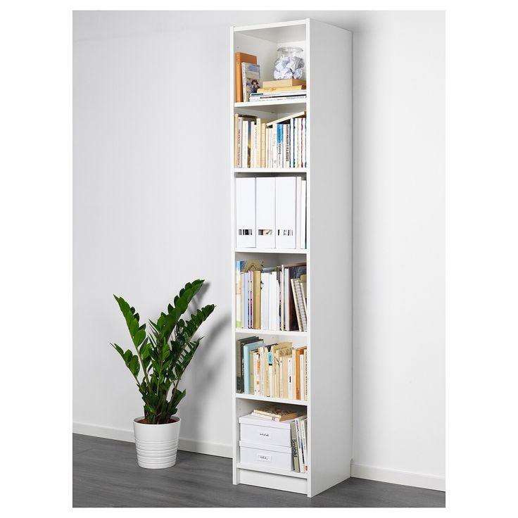 BILLY Bookcase   white 40x40x202 cm nel 2020   Porta ...