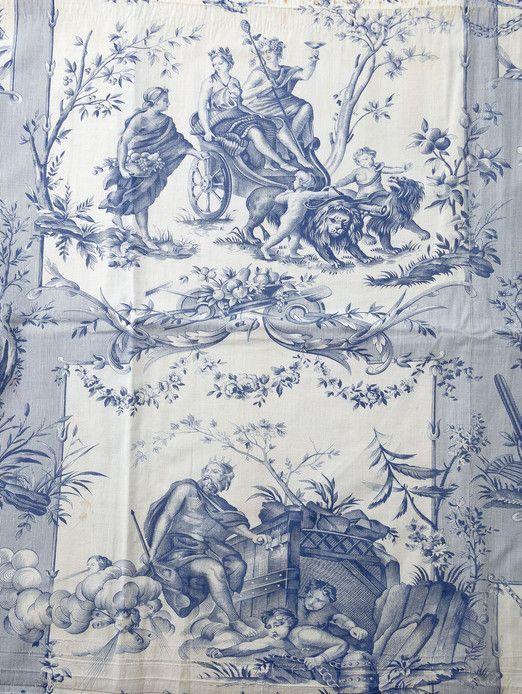 Au cours de plus d'un demi-siècle de production, la manufacture d'Oberkampf offre un panorama des évolutions stylistiques. Les motifs et sujets sont d'une grande variété : on les estime à plus de 30.000 avec les tissus pour l'habillement, bien au delà des textiles connus sous le nom de Toile de Jouy. Tout au long de sa carrière, Oberkampf réimprima des motifs en les modifiant ou à l'identique, bientôt imité par ses concurrents et leurs successeurs.