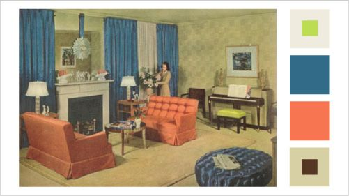 Old Living Room 1940 1940s living room 1940s living room clean and simple vintage retro