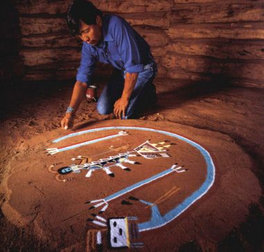 the sandpainting paper and the navajo american culture Navajo arts is dedicated to showcasing authentic native american art and crafts, navajo indian jewelry, navajo rugs, and navajo pictures from local artists learn about the navajo nation, history, culture, language, food, hogans, legends, sand paintings, code talker, navajo tribes and clans.