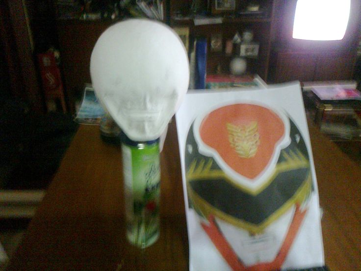 inicio proyecto casco power ranger megaforce. Alicia Hildt