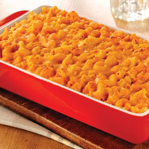 just add macaroni to the buffalo chicken dip.