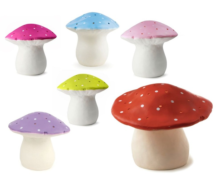 Veilleuse grand champignon