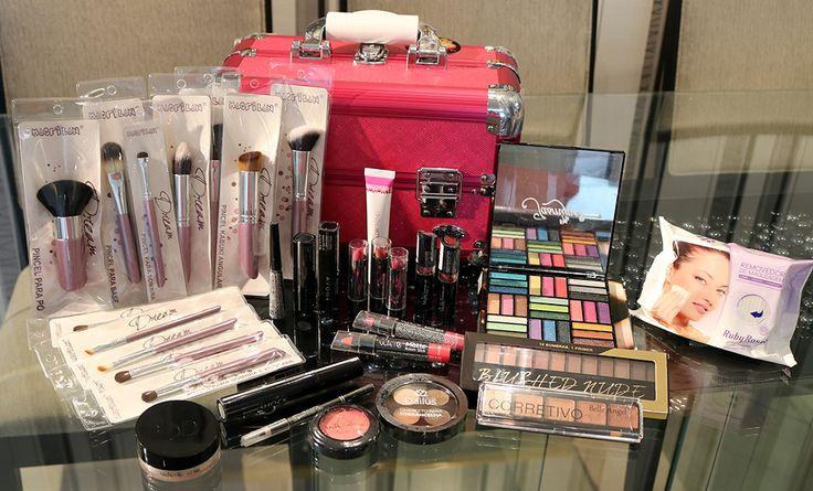 Sorteio especial de 10k no Youtube: kit de maquiagem