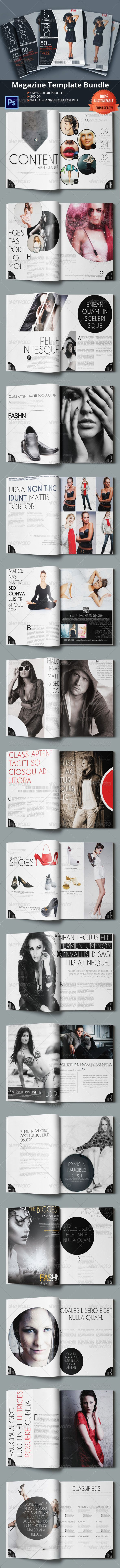 Creative Fashion Magazine  #brochure #business #catalog • Available here → http://graphicriver.net/item/creative-fashion-magazine/6069333?s_rank=18&ref=pxcr