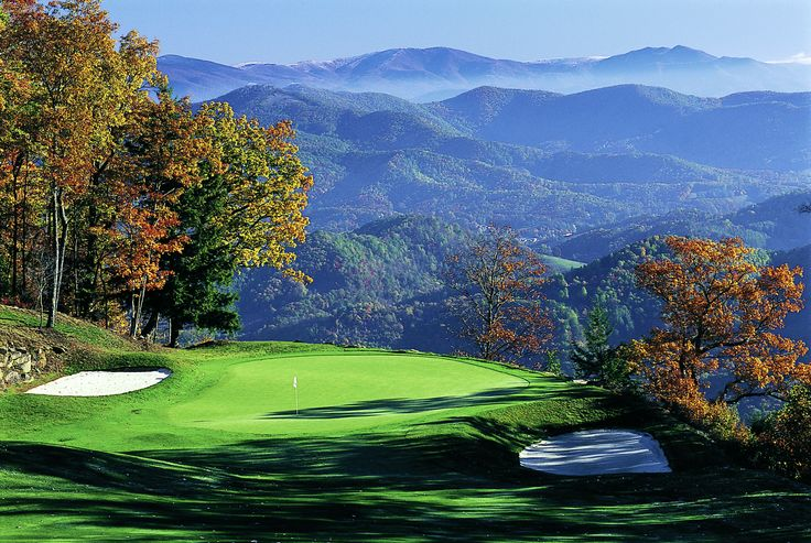Playing Moutain Air, Care Bear Golf in North Carolina