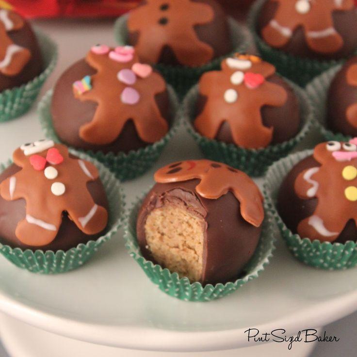 Pint Sized Baker: Little Debbie Gingerbread Truffles
