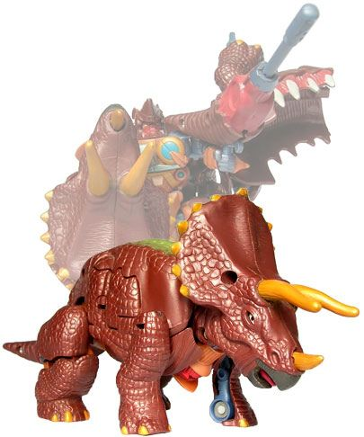 https://flic.kr/p/5fHmKo | Dinobot | A Hasbro Beast Machines Triceradon, a repaint of the Beast Wars Neo Guiledart.  (More.)