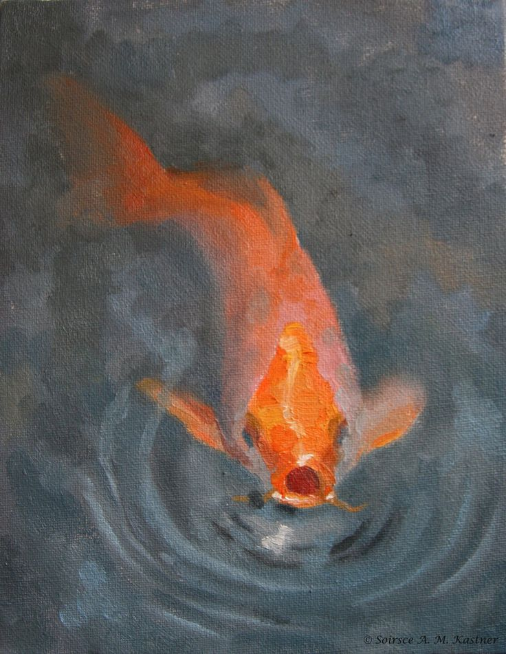 images of koi fishes | koi fish by soirsce traditional art paintings animals 2009 2013 ...