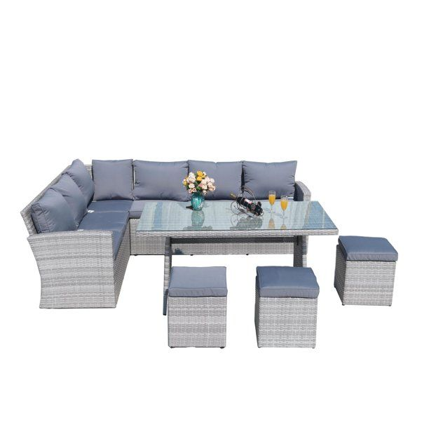 Direct Wicker Outdoor Furniture Sectional Sofa Set Wicker Furniture Walmart Com In 2020 Outdoor Wicker Furniture Outdoor Sectional Furniture Wicker Furniture