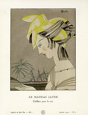 Charles Martin | Gazette du Bon Ton Antique Fashion Prints 1912-1913