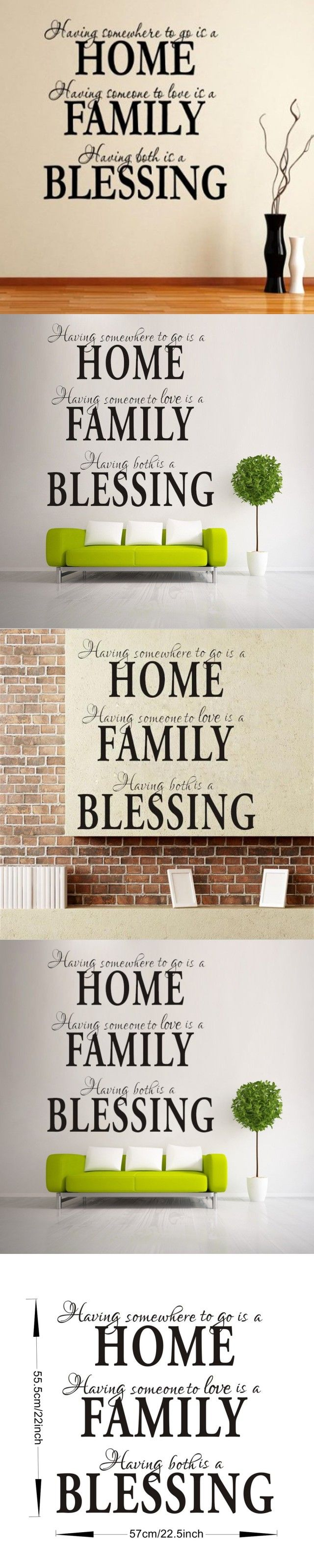 best 25 wall stickers for kids ideas on pinterest army room home family blessing inspirational quote wall sticker for kids room living room bedroom home decor 3d vinyl wall decal mural