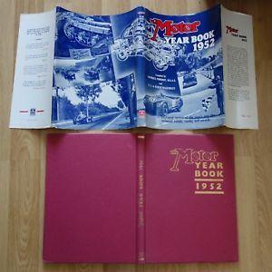 a 1952 libro el ano del motor f1 racing resultados coches de carretera