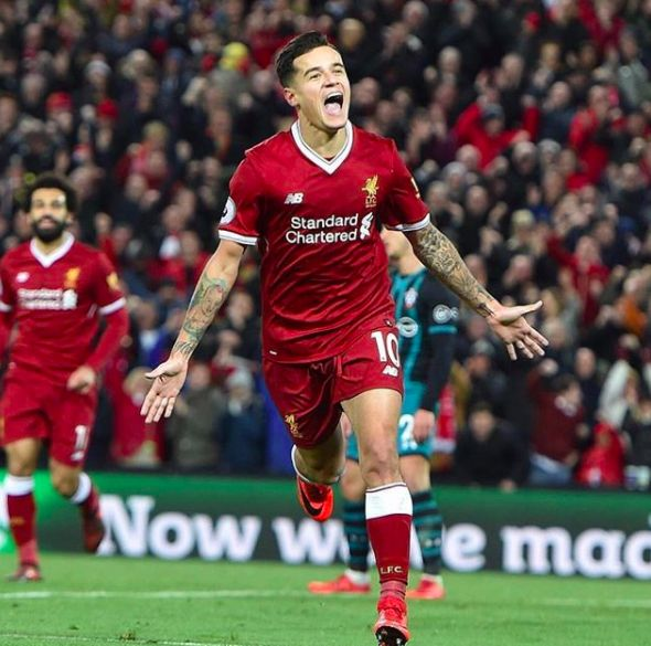 Philippe Coutinho pens emotional message to Liverpool fans
