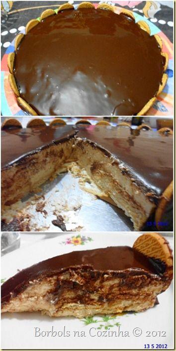 Parabéns Mamães - Torta Holandesa Diet receita