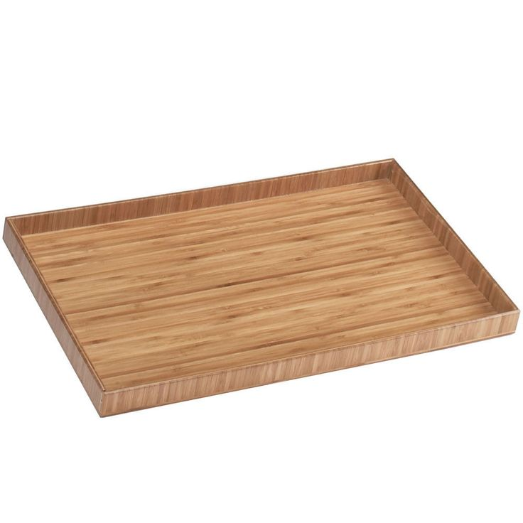 19.75W X 11.75D X 1.25H Bamboo Trays/Case Of 2