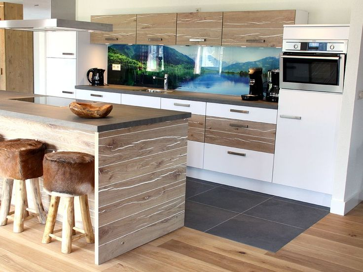 513 best Küche Alpenstil images on Pinterest At home, Catwalk - k che wei matt grifflos