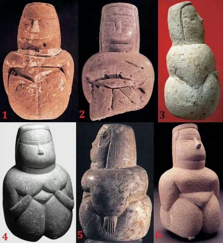 Dea Madre ,varie tipologie di ritrovamenti in Sardegna.#Deamadre#Sardegna#Archeologia
