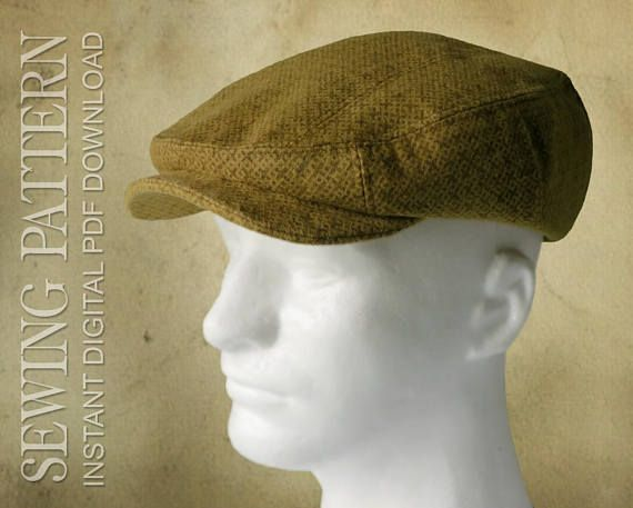SEWING PATTERN Finch 1920's Irish Flat Cap for Child or