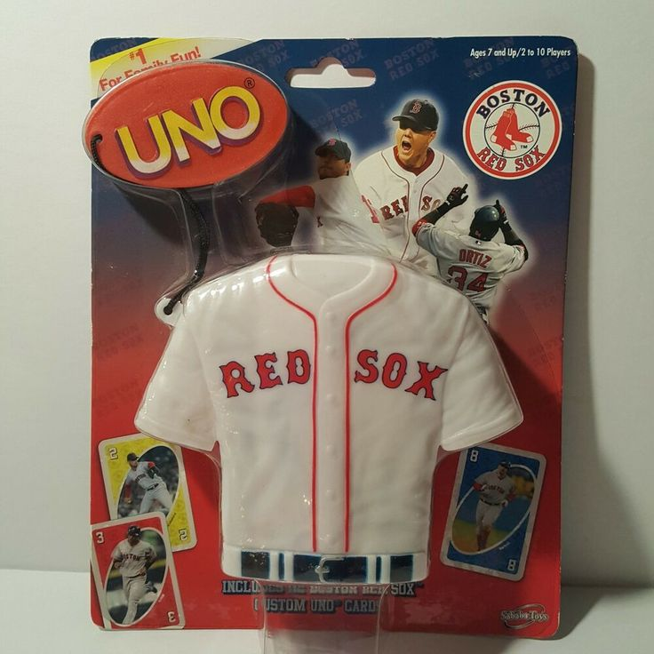 Brand new special edition uno boston red sox card game