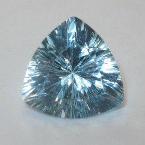 Topaz Trilian Concave Cut 6.50 carat