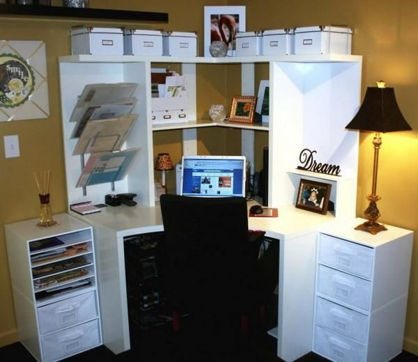 13 Best Images About Small Space Office Ideas On Pinterest