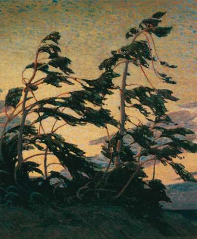 Pine Island, Georgian Bay - Tom Thomson. I love Tom Thomson!