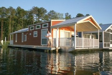 House Barges for Sale Louisiana | Houseboats For Sale Pre-Season 2009! Get a Custom Houseboat for ...