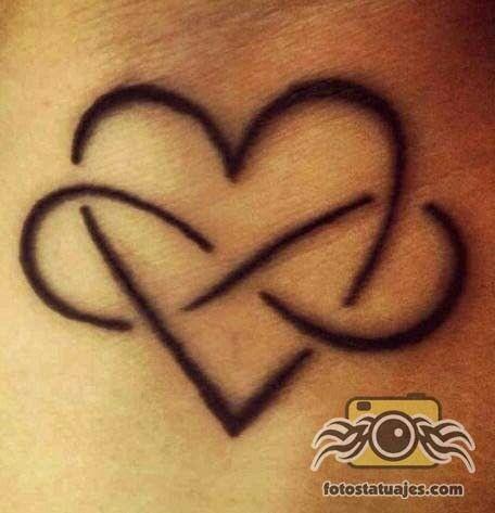 Pin De Mireya En Tatuaje Tatuaje Corazón Tatuajes De Infinito Y