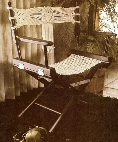 free macrame table hanger patterns | Macrame for Home Décor Vtg Pattern Book Hangers Chairs | eBay