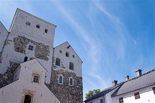 Wunderschöne Altstadt Turku, Finnland Finland