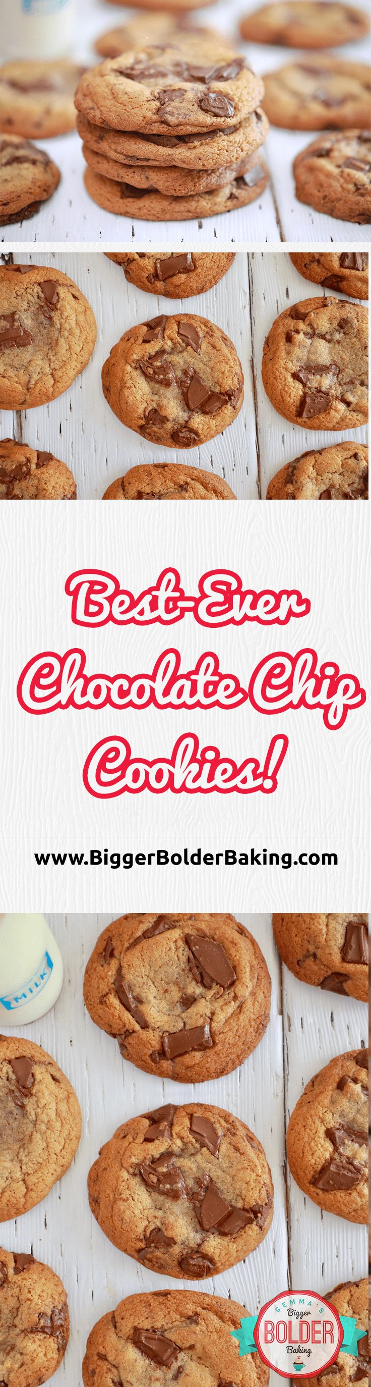 The Best Ever Chocolate Chip Cookies recipe that is taking the internet by storm! via @gemstafford