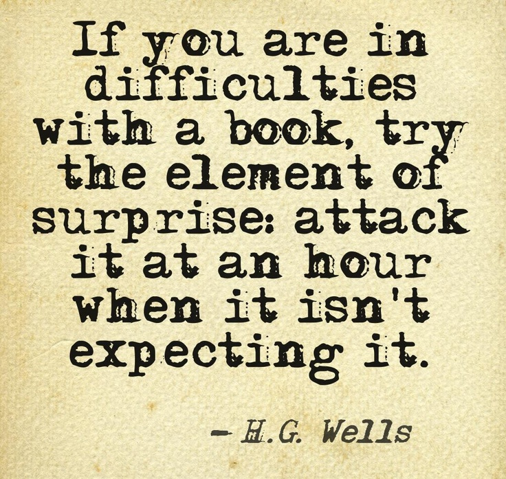 If you are in difficulties with a book... #quotes #authors #writers